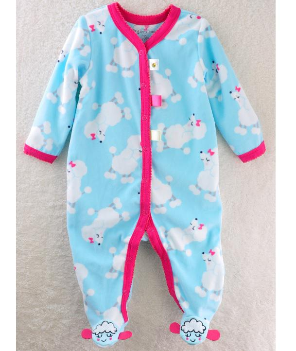 2017 Cheapest Wholesale Baby Clothes Baby Pajamas Rompers Sheep ...