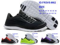Wholesale Cheap Athletic Mens Free Run V5 Running Shoes free run v5 sport tennis shoes