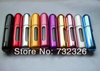 Wholesale Mini Perfume Bottle ml Sprayer Refilled Bottle Perfume Atomizer Mini Bottle