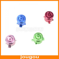 Wholesale Newest Aluminum Metal Sticking Bullet Fancy Buttons For PS3 Playstation Controller