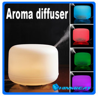 Wholesale Ultrasonic ml Perfume Diffuser Aroma Humidifier for Home amp Office Air Humidifier Diffuser with Colors Changing