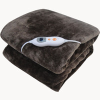 Wholesale Electric heating blanket electrically heated thermal blanket electric bed thermostat double water wash V