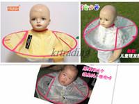 Wholesale Children s haircut cloak haircutting apron cloak Waterproof fabric Hair Cutting Gown for children cm cartoon Hair Cutting shawls Hair Salo