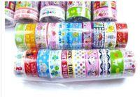 washi tapes - Freeshipping New High quality washi masking tape cartoon adhesive tape DIY sticker collection