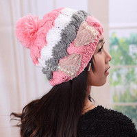 Wholesale D Korean winter hat bow hat lady hat factory influx Hat