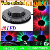 wholesale music gifts - Auto amp Voice activated Mini Led Laser Stage Lighting Light Lights Starry indoor music DISCO DJ Party Christmas gift New Arrival