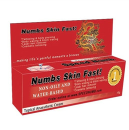 Wholesale Speed numb tubes tattoo numbing cream g topical anaesthetic cream high quality for sale