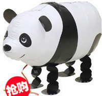 Animal aluminium foil products - Walking Pet Foil Balloon Inflatable Ball Toy Cartoon Panda Party Product Hot Sale Present quot
