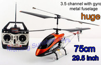 Electric 2 Channel 1:5 Huge 75M 29.5inch 3ch rc helicopter gyro DH 9053 model radio remote control R C big heli helicoptor plane