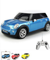 Wholesale Promotion New Kids Toys Scale Remote control car Medium Mini Cooper Rc Cars Radio Car unique toys