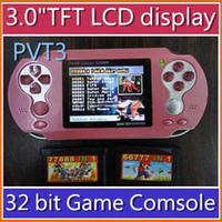 Wholesale DHL Newest PVT3 Game Console inch in Game Player Games RW PVT3 JX