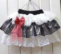 Wholesale New Fashion Christmas Baby Girl Lace Dress Striped Infant Tutu Pattern Skirt Baby Ball Dress Color random
