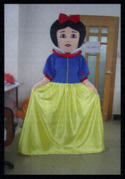 Wholesale bs2013 adult party use Snow White cartoon mascot costume with