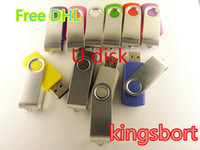Wholesale GB swivel custom USB Flash Memory Pen Drives Sticks Disks Discs GB USB Pendrives Thumbdrives0063D