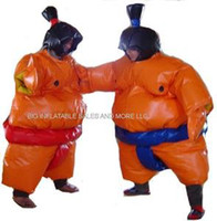 Wholesale Commercial Inflatable SUMO Judo WRESTLER Suits bouncehouse Inflatable Costumes Drop Shipping