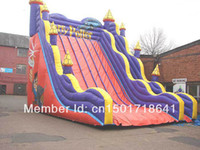 Wholesale Hot Sale Inflatable Bouncer Slide Inflatable Children Trampoline
