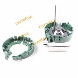Wholesale 2x Refit convex lens car HID D1S D2S D3S D4S light Projector Bulb Holder adapters adaptors adapted original base cable