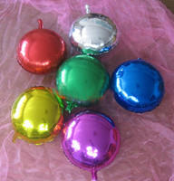 Wholesale Hot Sale Party Supplies Aluminum Foil Balloon Round Ball Wedding Decor Inch