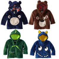 Boy clothing factory - QingDao Factory Kid s Clothing Winter Baby Coat Carton Embroidery Boys Hoodies Coat Baby s Jacket With Cap Children Outwear QZ323