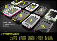 Wholesale Lunatik Taktik iphone5 Extreme Case Cover Aluminum Case PC and Glass Film Case for iPhone