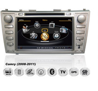 2 DIN Special In-Dash DVD Player 8 Inch HD Touch 8 Inch Car DVD Player For Toyota Camry 2007-2011 With Built in GPS Navigation 3G Radio Bluetooth RDS 3D PIP Free Map