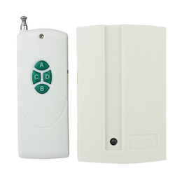Wholesale 4 Keys Wireless Remote Control Relay Learning Style Receiving Controller ZAB PC new F3008B
