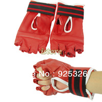 Wholesale 5PCS New Professional Match Boxing Gloves FItness Glove For Home Use Pair Red Wrestling Style Boxing Gloves
