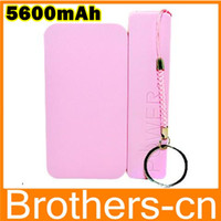 Wholesale 5600mAh Perfume Power Bank Charger Top Quality Fragrance Portable External Battery USB Power Pack Charger for iPhone s S Sumsung HTC