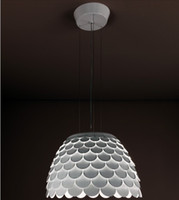 Wholesale Fish scale Pendant Lamps Minimalist Modern Fashion Acrylic Pendant Lamps Bedroom Living room Lamps