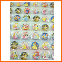 Metal belle pin - 3 sheets Princess Snow White Belle quot Button Pins Badge Party Bag Toy
