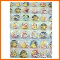 ECO Friendly belle buttons - 3 sheets Princess Snow White Belle quot Button Pins Badge Party Bag Toy
