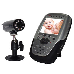 "Newest 1030D HD CMOS 2.4GHz 2.4"" TFT LCD Screen Wireless camera Baby Monitor Mini DVR Recorder night vision FREE SHIP"