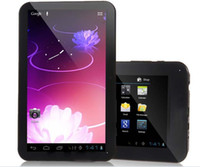 Wholesale quot Tablet PC Android with Allwinner A10 G Sim card slot built in Phone call function GB RAM GB HDMI