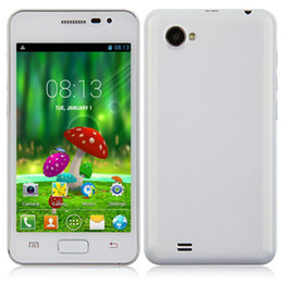 Wholesale 5PCS DHL S2 A9100 I9100 Smartphone Android MTK6572W Dual Core GHz Inch G GPS GB White