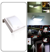 Wholesale New Solar Power Motion Sensor Detector LED Light Garden Path Wall Camping Waterproof Lamp Energy saving