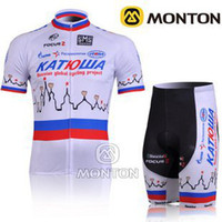 Breathable plain jersey - new arrival plain white cycling jersey cycling Tights suit KATUSHA Cycling jerseys Short Sleeve Close fitting Wear