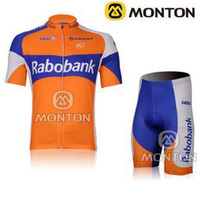 Short puerto rico - Outdoor Cycling wear set RaboBank Team cycling jersey Short Sleeve Orange Cycling jerseys puerto rico cycling jersey