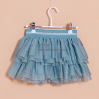 Summer Straight Above Knee/Mini Fashion Baby Tutu Girls Skirts Children Clothes Girl Skirt Tutu Kids Wear Summer Dress Baby Wear Kids Clothing Tiered Skirts Toddler