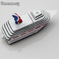Wholesale Carnival Steamship Shape USB Flash Drive Real Capacity GB GB GB GB GB Pen Drive USB Stick Memory Stick US0120