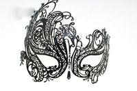 Luxury Women Mask with cyrstal Rhinestone for Venetian Masqu...
