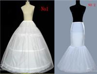 Wholesale A Line Mermaid Petticoat hoop Underskirt For Ball Gown Bridal Dresses Mermaid Wedding Prom Gowns
