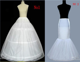 Wholesale A Line Mermaid Petticoat For Ball Gown Bridal Dresses Mermaid Wedding Gowns
