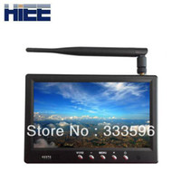 Airplanes Antennas Metal RM5832:7 inch FPV monitor 5.8 GHz Diversity LCD Screen Receiver Monitor wireless vga transmitter