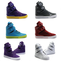 Wholesale Best Sneskers brand high top women and men s skateboarding shoes color size EUR