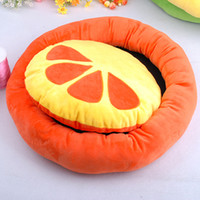 Wholesale High Quality and Soft Large Size Pet Cushion Bright Colors Thick Pet Nest CW032