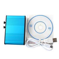 Wholesale USB channel External Audio Music Sound Card Soundcard For Laptop PC Skype