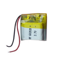 Mp3 GPS PSP mobile bluetooth Rechargeable Lithium 3.7V 250 mAh rechargeable Polymer Lithium Battery For Mp3 Mp4 bluetooth 062020