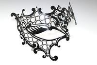 20pcs Fedex, Luxury Women Metal Mask Venetian Masquerade Ball...