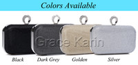 Wholesale GK Women Girls Shining Glitter Ring Clutch Evening Bag Shoulder Bag Box GZ