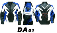 Wholesale hot women s men s Genuine Leathe Danny DA authentic leather Jacket racing jacket motorcycle motocross jacket